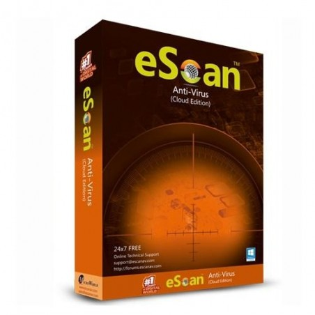 eScan Antivirus With Total...