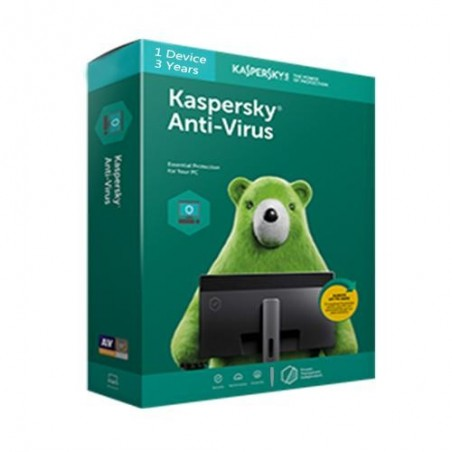 Kaspersky Antivirus 1PC/3Year