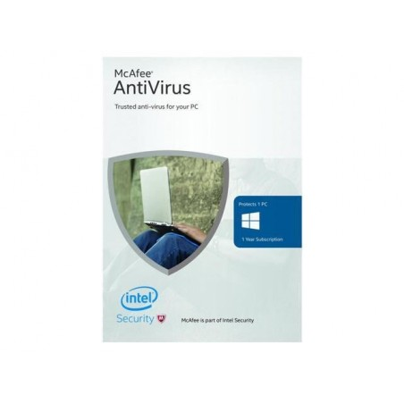 McAfee Antivirus 1PC/1Year